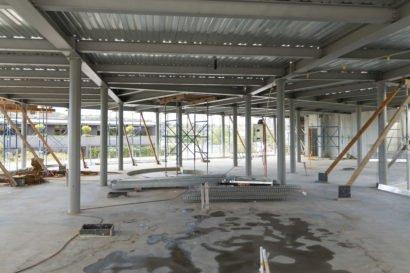 Pallas House construction site