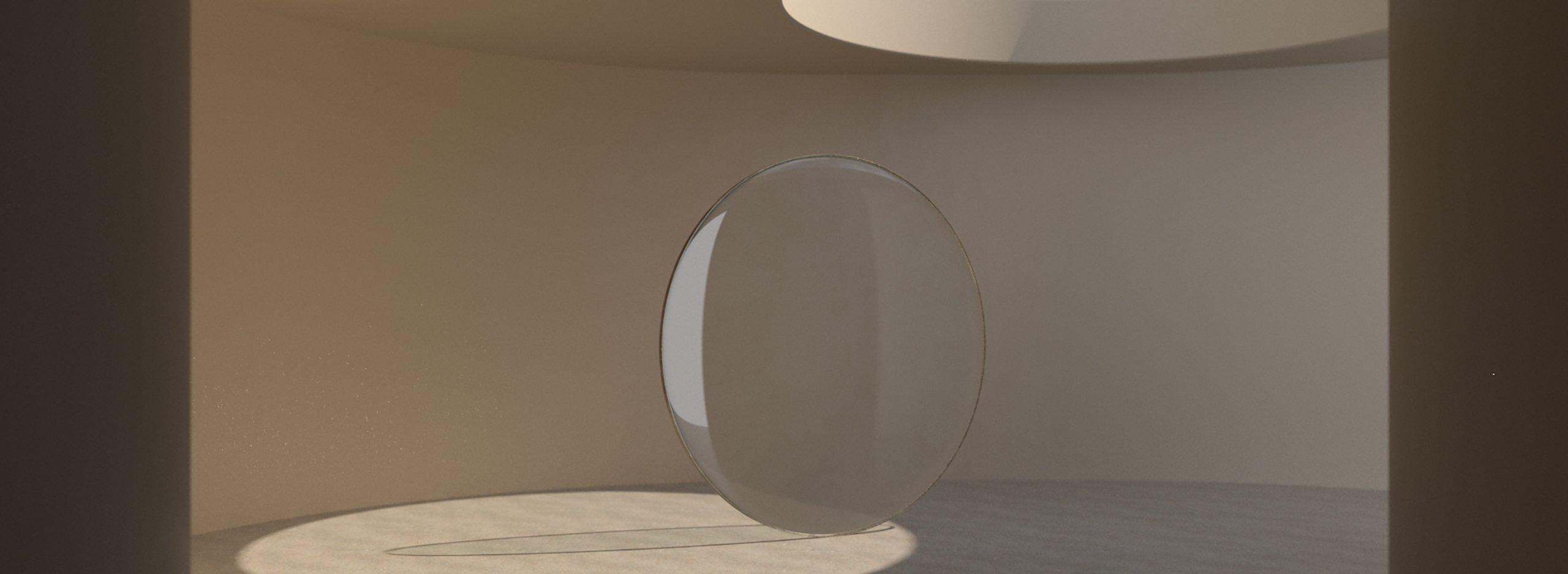 Spinning glass